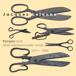 Jacques Lejeune - Parages and other electroacoustic works 1971-1985 3CD Box set